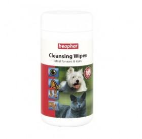 Beaphar Cleansing Wipes /мокри кърпички за коте и куче/-100бр