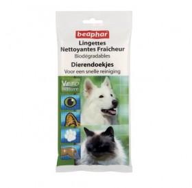Beaphar Bio Cleansing Wipes /почистващи кърпички с Алое Вера и Пантенол/-24бр.