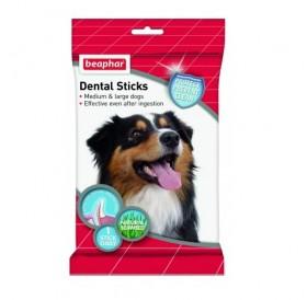 Beaphar Dental Sticks for Medium and Large Dogs /дентални пръчки за свеж дъх и чисти зъби/-182гр