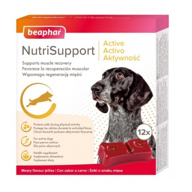 Beaphar® NutriSupport Active Dog /хранителна добавка за активни и работещи кучета/-12бр