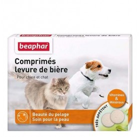 Beaphar Brewers Yeast Tablets /таблетки бирена мая/-100бр