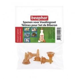 Beaphar Lactol Nursing Set Caps /резервни биберони за комплект за кърмене Beaphar Lactol/-5бр