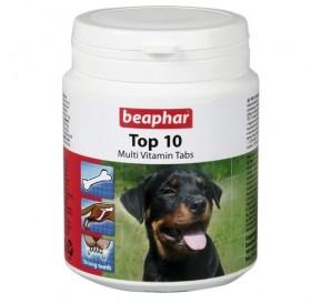 Beaphar TOP 10 Multi-Vitamin Tabs /мултивитамини за кучета/-180бр