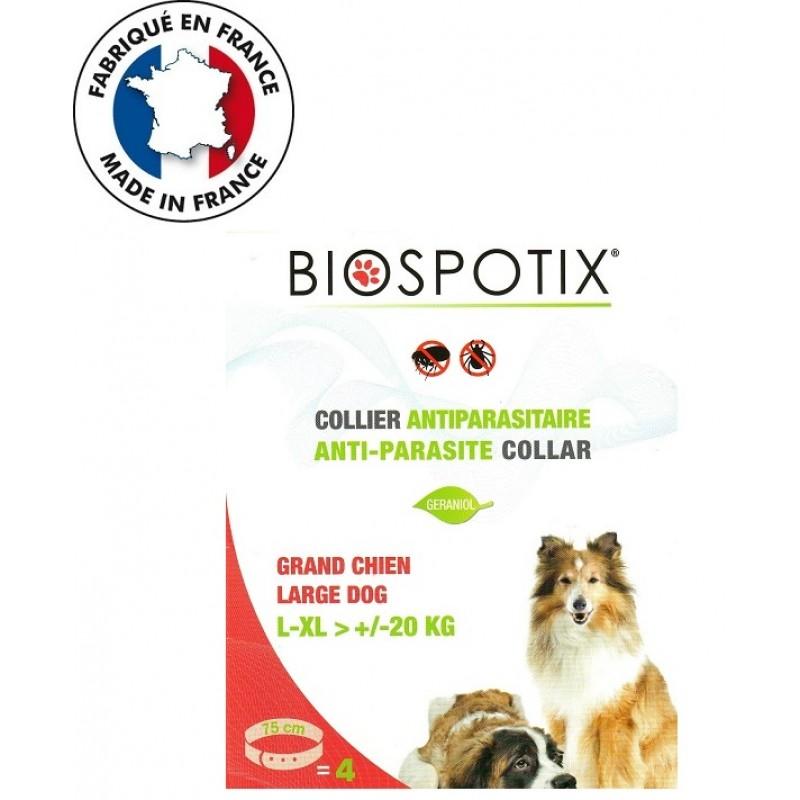 Biospotix Anti-Parasite Repellent Collar L-XL /Био Противопаразитна Каишка С Репелентен Ефект/-75см