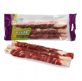 Braaaf Roll Sticks Beef&Fish /Солети От Телешка Кожа С Филе От Говеждо Месо И Риба 21см/-3бр