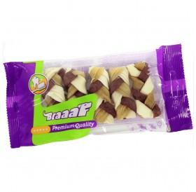 Braaaf Twister Braid /усукани мини плитки от кожа 6см/-5бр