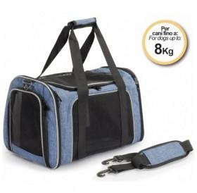 Camon® Pet Bag Denim /мека транспортна чанта/-41х28х28см