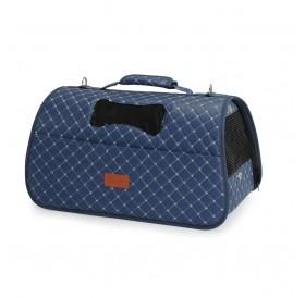 Camon Pet Bag Rombo /Полутвърда Ватирана Транспортна Чанта/-42x25x25см