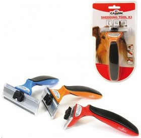 Camon Shedding Tool X3 L /професионално триминг-гребло/-7,6см