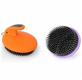 Camon® Rubber Brush /масажна гумена четка за късокосмести/