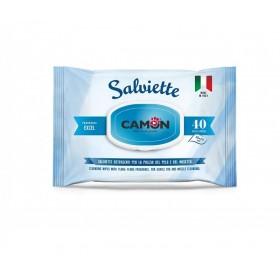 Camon Salviette Cleaning Wipes Excel /мокри кърпички за тяло с аромат на морски бриз/-40бр