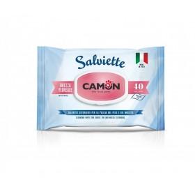 Camon Salviette Cleaning Wipes With Floral Breeze /мокри кърпички за тяло с аромат на цветя/-40бр