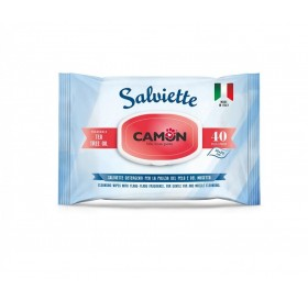 Camon Salviette Cleaning Wipes With Tea Tree Oil /мокри кърпички за тяло с аромат на чаено дърво/-40бр