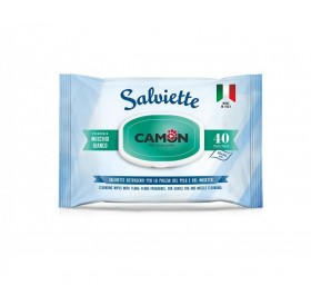 Camon Salviette Cleaning Wipes With White Musk /мокри кърпички за тяло с аромат На Бял мускус/-40бр