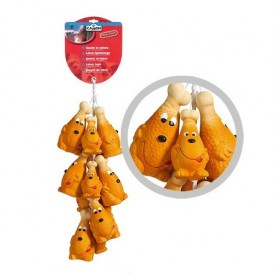 Camon Latex Chicken Thighs /латексова играчка за куче/-12см