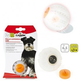 Camon® USB Glowing Ball /светеща топка за куче/-Ø6,5см
