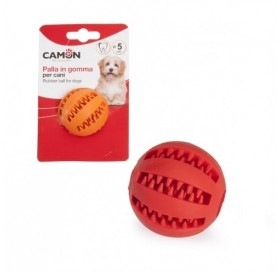 Camon Rubber Toy Dental Fun Baseball /Каучукова Играчка За Куче/-Ø5см