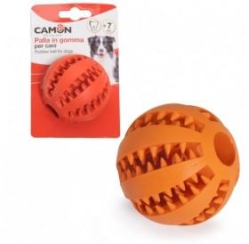 Camon® Rubber Toy Dental Fun Baseball /каучукова играчка за куче/-Ø7см