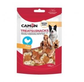 Camon Treats Snack Chicken Biscuits /бисквити увити в пилешко месо/-100гр