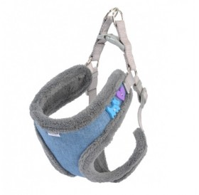 Camon Blue Harness with Buttons /зимен нагръдник за куче/