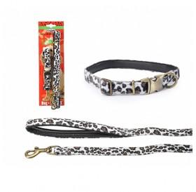 Camon Leopard Collar with Leash /комплект нашийник с повод за куче/
