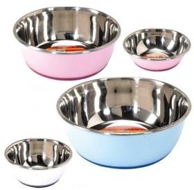 Camon Colourful Steel Bowl Selecta 350ml /цветна метална купа с анти-приплъзващо дъно 0,35л/-Ø13см
