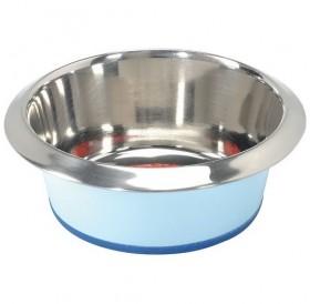 Camon Prima Coloured Steel Bowl 240ml /цветна метална купа с анти-приплъзващо дъно 0,24л/-Ø12см