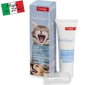 Candioli pharma DentalPet® /паста за зъби с четка за зъби тип напръстник/-50мл