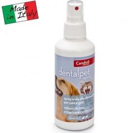 Candioli pharma DentalPet Spray /спрей за дентална хигиена за кучета и котки/-125мл
