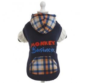 Croci Monkey /двулицева дрешка за куче/-25см