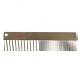 Croci Linear Steel Comb Vanity Premium /Метален Гребен/-15,7см