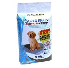 Croci Super Nappy Activated Carbon /памперс постелка с активен въглен 57х54/-14бр