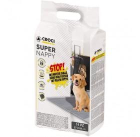 Croci Super Nappy Activated Carbon 84х57 /Памперс Постелка С Активен Въглен 84х57см/-14бр