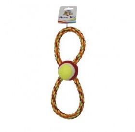 Croci Octopus Rope With Ball /Играчка За Куче Осморка Въже С Топка/-28см