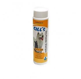 Croci Gill's Shampoo Dry Powder /сух шампоан във вид на пудра за кучета и котки/-200гр