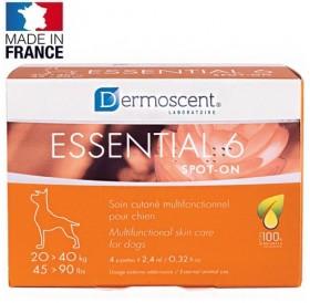 Dermoscent® Essential 6® spot-on for Large Dogs /пипети за мулти-функционална грижа за кожата за кучета от големи породи/-4бр