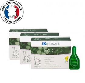 Dermoscent PYOspot spot-on for Small Dogs /пипети при пиодермия и дерматит за кучета от малки породи/-4бр