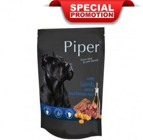 Piper Animals Dog Adult With Lamb Carrot And Brown Rice /Храна За Израснали Кучета С Агнешко Моркови И Кафяв Ориз/-10x150гр
