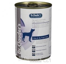 Dr.Clauder's Fur and Skin Diet Dog /храна за израснали кучета при лечение и профилактика на кожни заболявания/-400гр