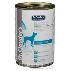 Dr.Clauder's Liver and Pancreas Diet Dog /храна за израснали кучета при лечение и профилактика на хронична чернодробна недостатъчност/-400гр