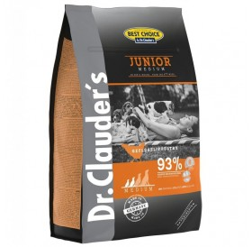 Dr.Clauder's Best Choice Junior Medium /Храна За Подрастващи Кученца Средни Породи/-4кг