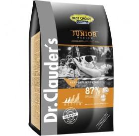Dr.Clauder's Best Choice Junior Medium /храна за подрастващи кученца от средни породи/-0,350кг