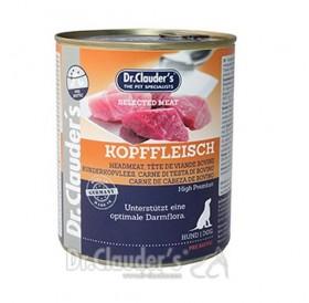 Dr.Clauder's Selected Meat Head Meat /храна за израснали кучета с месо от говежди глави/-800гр