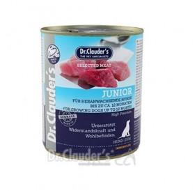 Dr.Clauder's Selected Meat Junior /храна за подрастващи кученца и за бременни и кърмещи кучета/-400гр