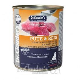 Dr.Clauder's Selected Turkey & Rice /храна за кучета с пуешко месо и ориз/-400гр