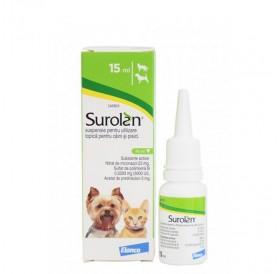 Surolan /за третиране на външни отити при кучета и котки/-15мл