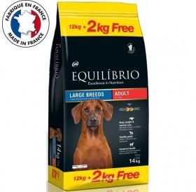 Equilíbrio Large Breeds Adult/Храна За Израснали Кучета Големи И Гигантски Породи/-12+2кг ГРАТИС
