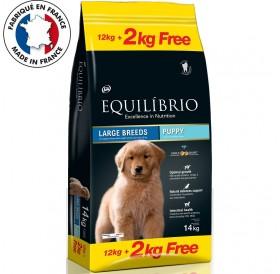 Equilíbrio Large Breeds Puppy /Храна За Подрастващи Кученца Големи И Гигантски Породи/-12+2кг ГРАТИС