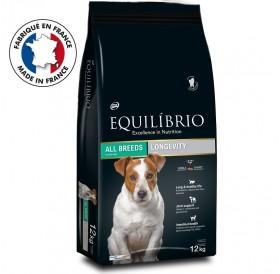 Equilíbrio Longevity All Breeds /храна за възрастни кучета от всички породи/-12кг