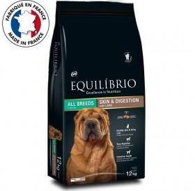 Equilíbrio Skin Digestion All Breeds With Lamb /храна са кучета предразположени към алергии с агнешко месо/-12кг